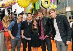 Big Time Rush et Ciarra Bravo au Kids Choice Awards 2011