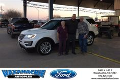Happy Anniversary to Jimmie on your #Ford #Explorer from Shawn Raleigh at Waxahachie Ford!  https://deliverymaxx.com/DealerReviews.aspx?DealerCode=E749  #Anniversary #WaxahachieFord
