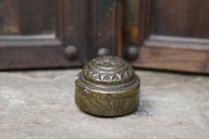 A+1940's+Decorative+Brass+Trinket+Box+from+Bundi+in+by+Lallibhai,+£14.00