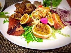 佐野未起's dish photo フリーカーでアクアパッツァなイカ飯   http://snapdish.co #SnapDish #混ぜ・炊き込みご飯/お粥 #ハーブの日(8月2日) #ブイヤベース #コンソメスープ #友達&家族でパーティ料理