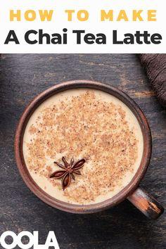 How To Make A Fantastic Chai Tea Latte cookies drink ice cream leaf mask peng Chia Tea Latte Recipe, Chaï Tea Latte, Chai Recipe, Starbucks Chai Tea Latte Recipe, Latte Art, Chocolate Chai Tea Recipe, Chi Tea Recipe, Best Chai Tea Recipe, Chai Spice Mix Recipe