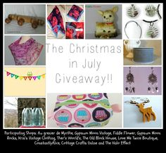 The (Ginormous) Christmas in July Giveaway! -