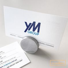 Raised Business Cards On 350gsm Extra Linen Full Colour Offset Process Printing Companies Custom