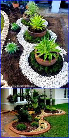 Strategy, tricks, also manual in pursuance of getting the most effective result … – diy garden landscaping Front Garden Landscape, Garden Paving, Front Yard Landscaping, Landscape Rocks, Landscaping Ideas, Outdoor Landscaping, Landscape Plans, Landscape Design, Garden Yard Ideas