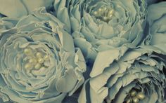 Paper Peony Stems Paper Flowers Stems for by RubyandCosette