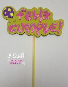 Letrero en Fomi.... Puedes utilizarlo en Ramos, anchetas o simplemente como tarjeta. Foam Crafts, Diy And Crafts, Paper Crafts, Banners, Foam Sheets, Topper, Ideas Para Fiestas, Flower Crafts, Diy For Kids