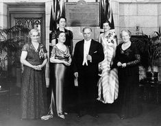 The Valiant Five, who fought for and won Canadian women's right to be elected to Senate.