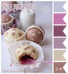 Plum Preserves Color Palette - Inspire Sweetness  http://www.inspiresweetness.blogspot.com/2013/11/plum-preserves-color-palette.html