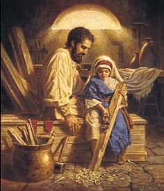 Happy Feast Day of St.Joseph the Worker. Praying for all the hard workers who provide for their families and fulfill their vocation. God bless them.