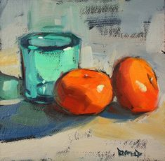 cathleen rehfeld • Daily Painting: Clementines - sold
