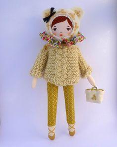 Image of kit poupée Mademoiselle Angèle Dimanche
