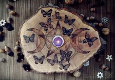 dark wooden path ☆: Summer Pentacle