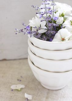 bowls & blooms