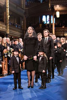 Watch The Heartwrenching Speech Celine Dion's Son Gave at His Dad's Funeral - CountryLiving.com