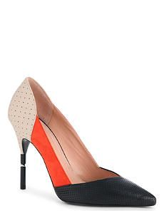 ROLAND MOURET Romy perforated court shoes