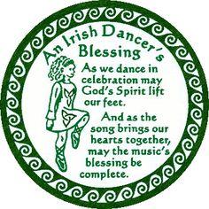 Irish Dancers Blessing