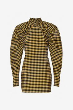 Number 1 - Yellow Check - Rotate by Birger Christensen Kpop Outfits, Fashion Outfits, Grunge Look, Check Dress, Chinese Clothing, Little Dresses, African Dress, Party Fashion, Sewing Clothes