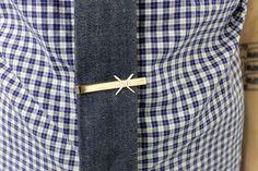 Lovin' this @denmbar neck tie and tie clip!