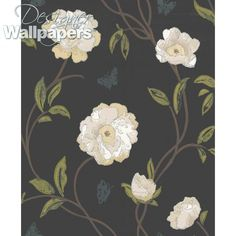 Peony Place - wallpaper for stairway?