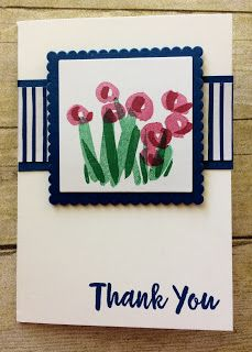 Kards by Kadie: Blooming Thank You Card