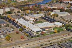 Business Education Center aerial picture, Eau Claire, WI. #CVTC
