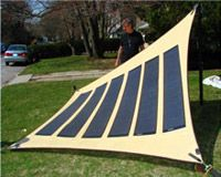 With man-made or natural disasters occurring unexpectedly at all corners of earth, there has been a sharp demand for dependable portable energy sources that can make rescue efforts a lot easier and more successful. And to that effect, arrives PowerMod – the new portable solar tent ready to help in relief work to victims of disaster.