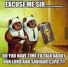This cartoon shows the Ewoks from the Star Wars movie. - This cartoon shows the Ewoks from the Star Wars movie. Star Wars Film, Star Wars Witze, Star Wars Jokes, Ewok, Chewbacca, Geek Culture, Pop Culture, Caricature, Make Up Geek
