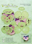 Lea'bilities Multi Die  - Pansy Flower 3