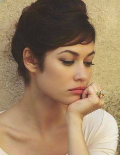 The gorgeous Olga Kurylenko |