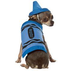 crayon dog costume $19.99
