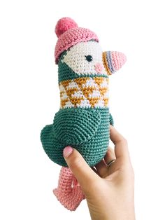 Penguin toy - Amigurumi Crochet - Handmade - Stuffed Animals - Soft Toy - Green or black Crochet Penguin, Handmade Stuffed Animals, Christmas Bunting, Bunting Garland, Paper Beads, Amigurumi Toys, Color Themes, Fingerless Gloves, Arm Warmers
