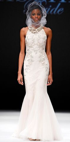 Swoon-Worthy Dresses From Bridal Fashion Week - Fall 2015 from #InStyle