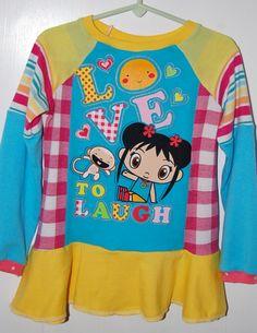Kai Lan upcycle tunic