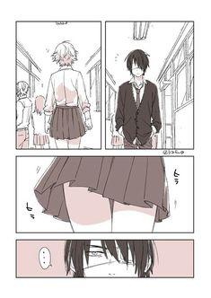 Manga Art, Manga Anime, Anime Art, Gekkan Shoujo Nozaki Kun, Comedy Anime, Manga Couple, Creepy Art, Mystic Messenger, Cartoon Art