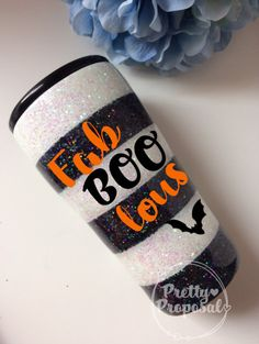 Glitter And Gold Vinyl Tumblers, Custom Tumblers, Tumblr Cup, Halloween Cups, Glitter Cups, Glitter Balloons, Glitter Tumblers, Cup Crafts, Yeti Cup
