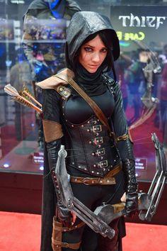 cosplay thief (Garrett)