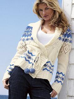 We�niany norweski sweter LUKSUS Victoria's Secret