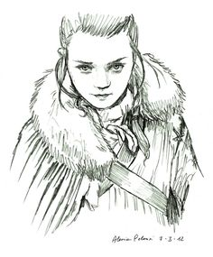 Arya by AlessiaPelonzi, via deviantart