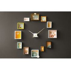 DIY clock - going to make somthing like this for my sewing room