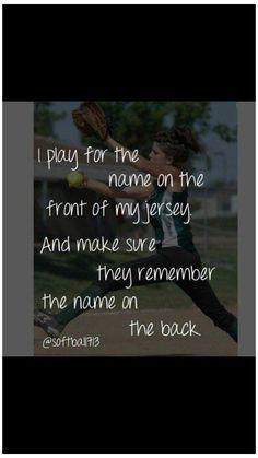 Funny Names For Back Of Softball Jersey : funny, names, softball, jersey, ⚾️Softball⚾️, Ideas, Softball,, Softball, Quotes,
