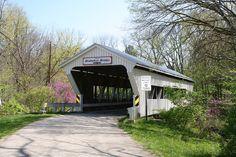 Brubaker Bridge, Preble County, Ohio, by Drowsy Mary, via Flickr