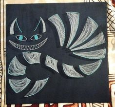 Cheshire Cat, the author Anastasia. Artklub Gallerix