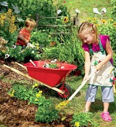 Garden Tools For Kids - Kid sized garden tools for the little ones that just want to help.