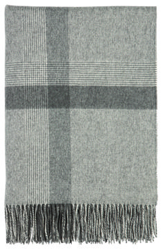 Johnstons of Elgin - Simple Check Cashmere Throw. Can there be anything more inviting than the idea of wrapping up in a pure cashmere throw?