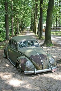 Volkswagen – One Stop Classic Car News & Tips Supercars, Kdf Wagen, Rat Look, Vw Classic, Vw Volkswagen, Vw Beetles, Automobile, Cool Pictures, Vw Bugs