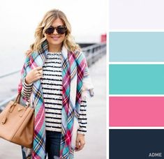 12 superb color combinations for your spring wardrobe Colour Combinations Fashion, Fashion Colours, Colorful Fashion, Color Combinations, Color Schemes, Colourful Outfits, Cool Outfits, Fashion Outfits, Color Balance