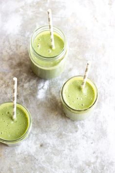 favorite fall green smoothie