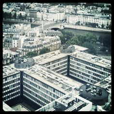 #Jussieu vs. Haussmann, #Paris  - @008751- #webstagram