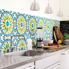 tiles! green & blue tiles carrelages