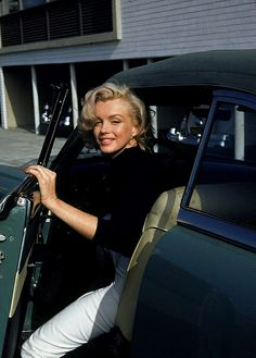 May 1953, Hollywood. Photography by Alfred Eisenstaedt